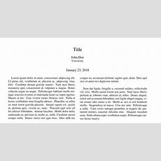 Using Apa6, How Do I Get The Date To Appear On The Title Page After The Authors  Tex Latex