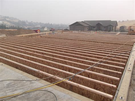 flooring joists dave and angie s house day 2 floor joist installation