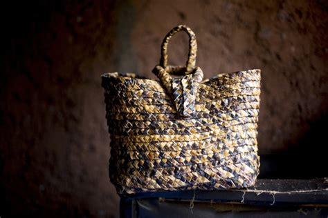 How Hand-woven Banana Leaf Bags Changed This Rwandan Woman