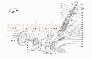 Ferrari 456 M Gt  Gta Rear Suspension