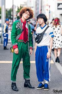 Harajuku Girls w/ Colorful Hairstyles in Candye Syrup Listen Flavor Nile Perch Glad News ...