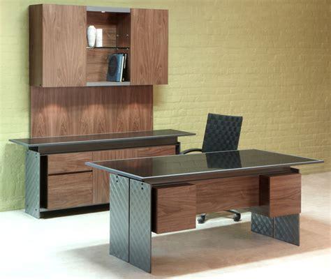 Stone Top Executive Office Furniture  Modern Desk Set