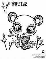 Coloring Panda Pages Cartoon Popular Adorable sketch template