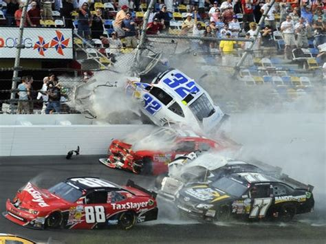 Fans' Conditions Upgraded After Scary Crash At Daytona
