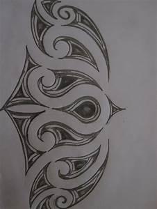 maori inspired tattoo design. pencil sketch by ...