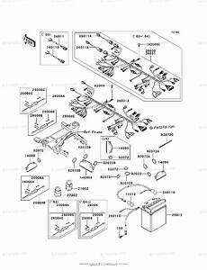 Kawasaki Atv 2003 Oem Parts Diagram For Chassis Electrical Equipment