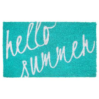 Summer Doormats hello summer coir doormat home home decor