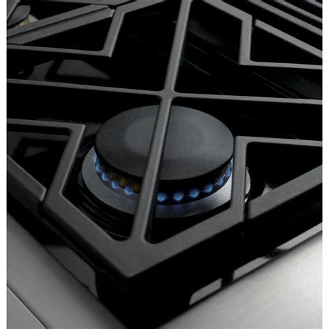 zgunpss ge monogram  professional gas rangetop   burners natural gas