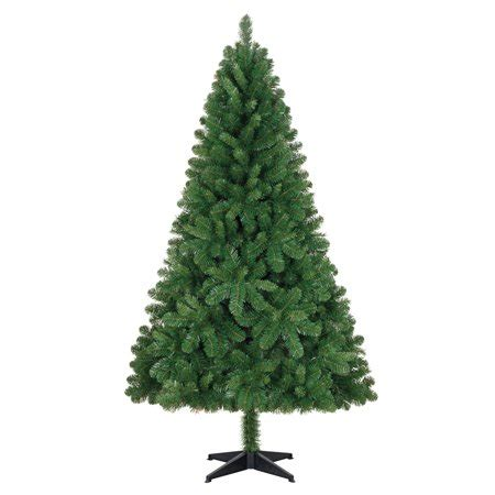 walmart 65 artifical xmas trees time unlit 6 5 jackson spruce green artificial