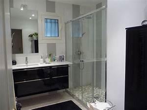 salle de bain baignoire douche With modele de salle de bain avec baignoire