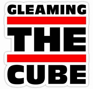 """""""Gleaming The Cube Vintage 80's T-Shirts"""" Stickers by ..."""
