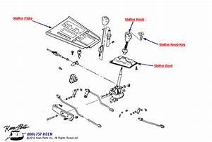 1992 Corvette Shifter Parts