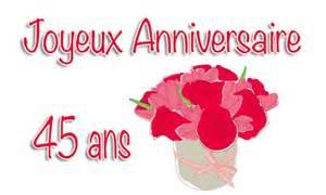 anniversaire de mariage 45 ans carte anniversaire mariage 45 ans bouquet