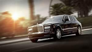Full HD Wallpaper Rolls Royce Phantom Speed Sunset Luxury