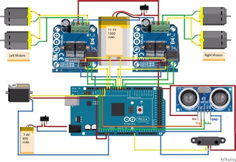 Inspection Robot Arduino Project Hub