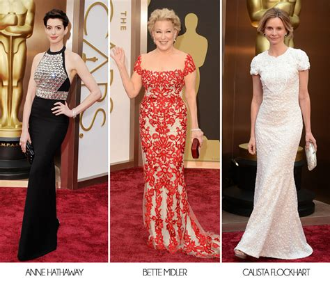 The Oscars 2014 Red Carpet Fashion