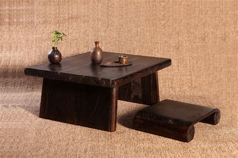 traditional japanese dining table aliexpress com buy japanese antique table rectangle 80 70cm paulownia wood asian traditional