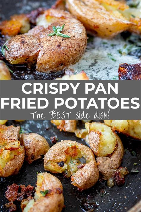 Those stories about tofu and soy being dangerous and messing with human hormones? Crispy Pan Fried Potatoes are one of the world's BEST side ...