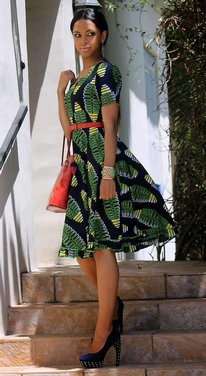 nigeria ankara fashion styles short gown dezango
