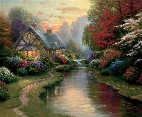 the cottage painting cottages