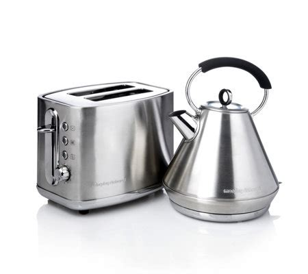 morphy richards kettle and toaster set morphy richards elipta traditional stainless steel kettle