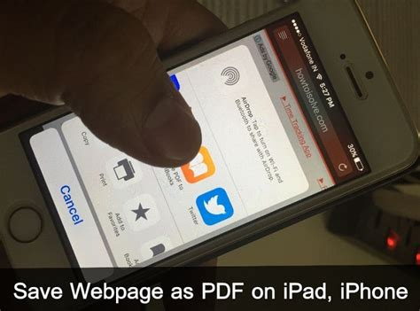 how to save on iphone how to save webpage as pdf on iphone mac ios 9