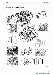 Komatsu Hydraulic Excavator Hb365lc
