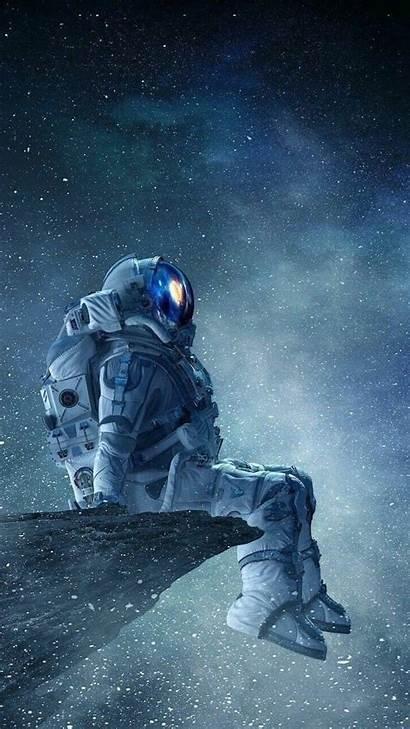 Astronaut Galaxy Universe Phone Desktop Sky Aesthetic