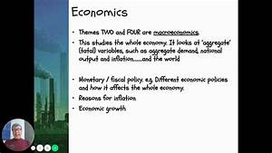 Economics  Introduction To A Level