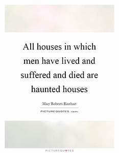 Haunted Quotes ... Haunted Places Quotes