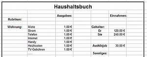 Geld Und Haushalt De Haushaltsbuch : das haushaltsbuch f r den pc sparen im haushalt ~ Lizthompson.info Haus und Dekorationen