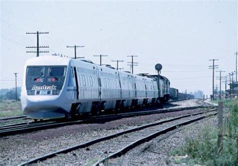 Amtrak X2000 Train at Riverbank
