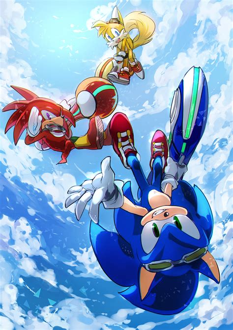 sonic deviantart hedgehog lenmeu riders boom heroes cute shadow amy tails knuckles fan fanart he picsart source silver team awesome