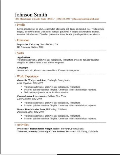 Completely Free Resume Templates by 11 Best Images About Ladattavia Cv Pohjia On