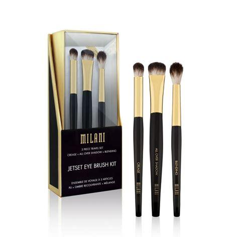 milani jetset eye brush kit cosmeticos