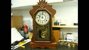 Ingraham Mantel Clock Repair Preview