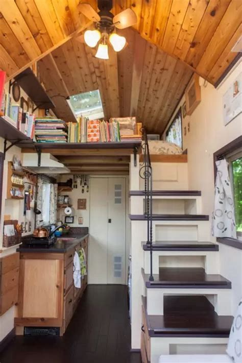 Woman Designs/Builds her own Pocket Mansion Tiny House