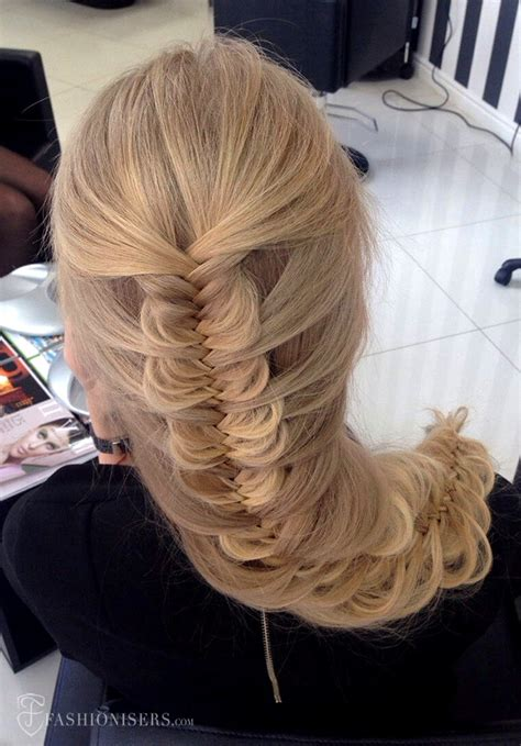 pretty braided hairstyles  prom fashionisers