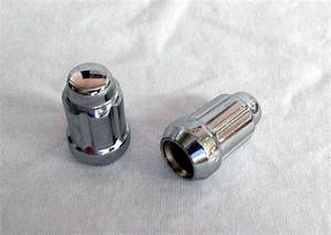12mm X 1 5 Spline Drive Lug Nuts In Chrome For Polaris