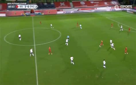 Video: De Bruyne's effortless outside-foot pass vs England