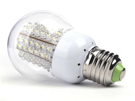 replace outdated light bulbs with new energy efficient led