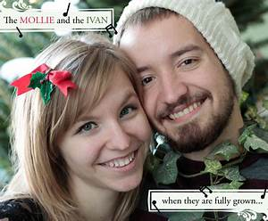holly and ivy couples christmas card ideas Molliepop