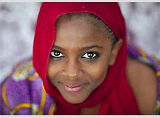 Portrait Of Beautiful Teenage Girl In Lamu, Kenya Lamu