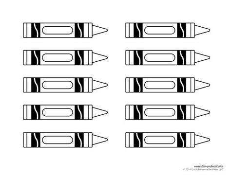 Crayon Template Crayon Template Classroom Ideas Crayons