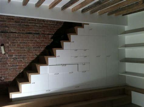 escalier rangement pour mezzanine escalier sur mesure rangements int 233 gr 233 s mezzanine
