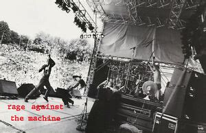 POSTER : MUSIC : RAGE AGAINST THE MACHINE - LIVE - FREE ...