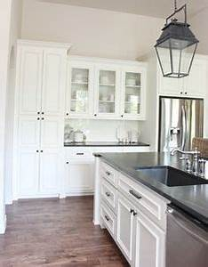 sherwin williams alabaster for cabinets same as benjamin With kitchen colors with white cabinets with deer antler candle holders