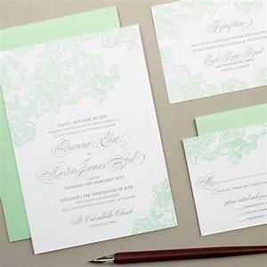 mint wedding invites wedding ideas With wedding invitation printing green bay wi