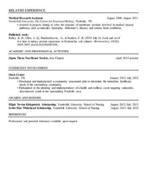 vanderbilt resume resume ideas