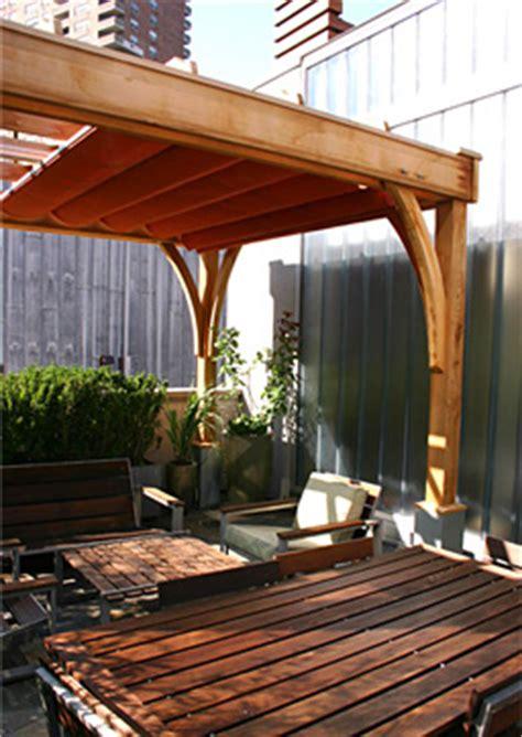 large rooftop pergola  rp  trellis structures